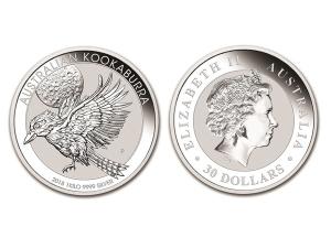 2018澳洲笑鴗鳥銀幣1公斤