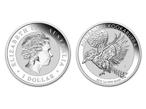 2018澳洲笑鴗鳥銀幣1盎司