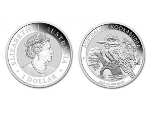 2019澳洲笑鴗鳥銀幣1盎司