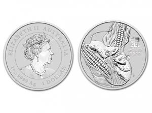 2020澳洲生肖鼠銀幣1盎司(系列III)