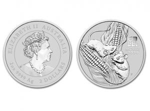 2020澳洲生肖鼠銀幣2盎司(系列III)
