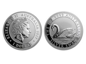 2017 澳洲天鵝銀幣1盎司