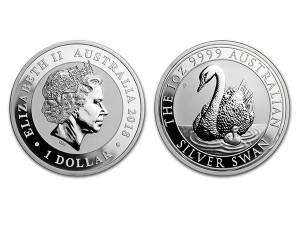 2018澳洲天鵝銀幣1盎司