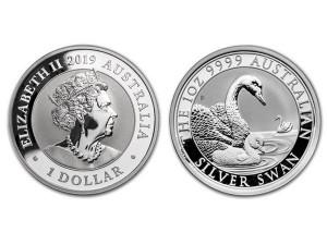 2019澳洲天鵝銀幣1盎司