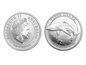 2016澳洲虎鯊銀幣0.5盎司