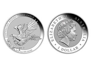 2015澳洲楔尾鷹銀幣1盎司