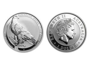 2016澳洲楔尾鷹銀幣1盎司