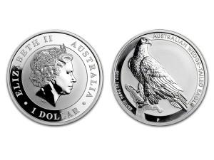 2017澳洲楔尾鷹銀幣1盎司