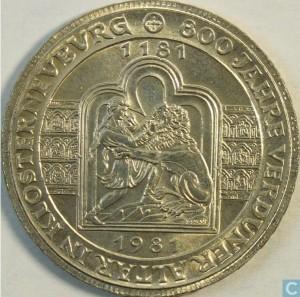 1981年奧地利凡爾登祭壇八百周年珍藏幣