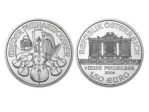 2008維也納愛樂銀幣1盎司