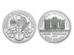 2016維也納愛樂銀幣1盎司
