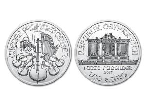 2017維也納愛樂銀幣1盎司
