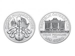 2019維也納愛樂銀幣1盎司