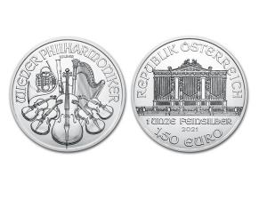 2021維也納愛樂銀幣1盎司