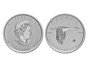 2020加拿大野雁銀幣2盎司