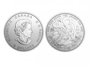 2017加拿大生肖雞銀幣1盎司