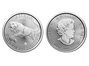 2016加拿大美洲獅銀幣1盎司