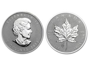 2013加拿大楓葉銀幣1盎司蛇年加鑄