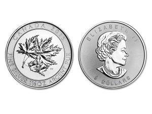 2015加拿大楓葉銀幣1.5盎司特厚版