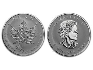 2016加拿大楓葉銀幣1盎司-灰熊加鑄
