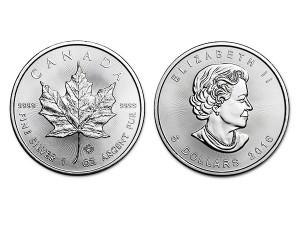 2016加拿大楓葉銀幣1盎司