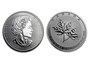 2017 加拿大瑰麗楓葉銀幣10盎司