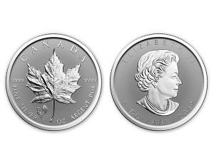 2017加拿大楓葉銀幣1盎司雞年加鑄版