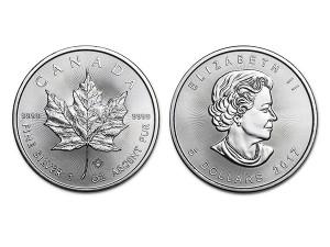 2017加拿大楓葉銀幣1盎司