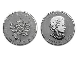 2018加拿大楓葉銀幣1盎司-狗年加鑄