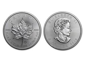 2018加拿大楓葉銀幣1盎司
