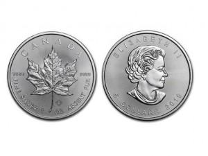 2019加拿大楓葉銀幣1盎司