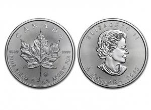2020加拿大楓葉銀幣1盎司