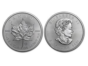 2021加拿大楓葉銀幣1盎司