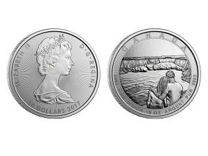 2017加拿大尼加拉大瀑布銀幣10盎司
