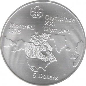 1976加拿大夏季奧運珍藏幣