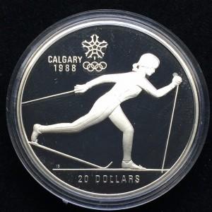 1988加拿大冬季奧運珍藏幣