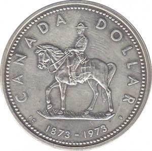1973加拿大皇家騎警百年珍藏幣