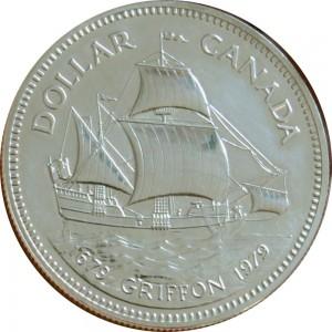 1979加拿大格里芬號珍藏幣
