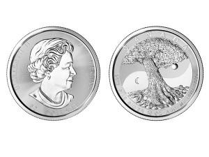 2017加拿大生命之樹銀幣10盎司