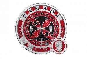 2017加拿大楓葉銀幣1盎司彩繪撲克版