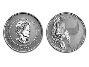 2015加拿大超人銀幣0.25盎司
