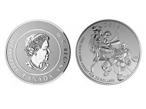 2016加拿大超人銀幣0.25盎司