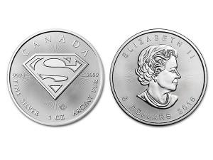 2016加拿大超人銀幣1盎司