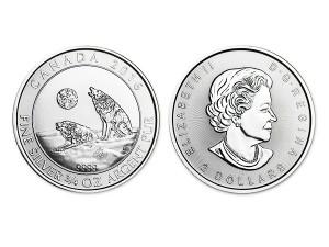 2016加拿大灰狼銀幣0.75盎司