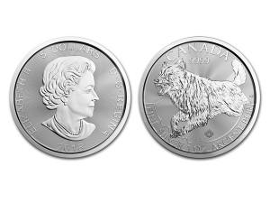 2018加拿大野狼銀幣1盎司