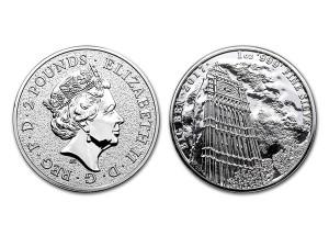 2017英國地標大笨鐘銀幣1盎司