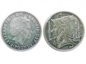 2003大不列顛銀幣1盎司