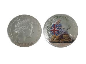2007大不列顛銀幣1OZ-彩色版
