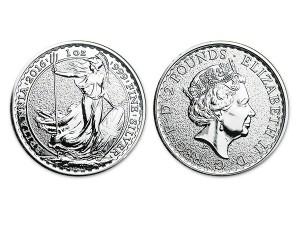 2016大不列顛銀幣1盎司