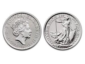 2017大不列顛20周年紀念銀幣1盎司